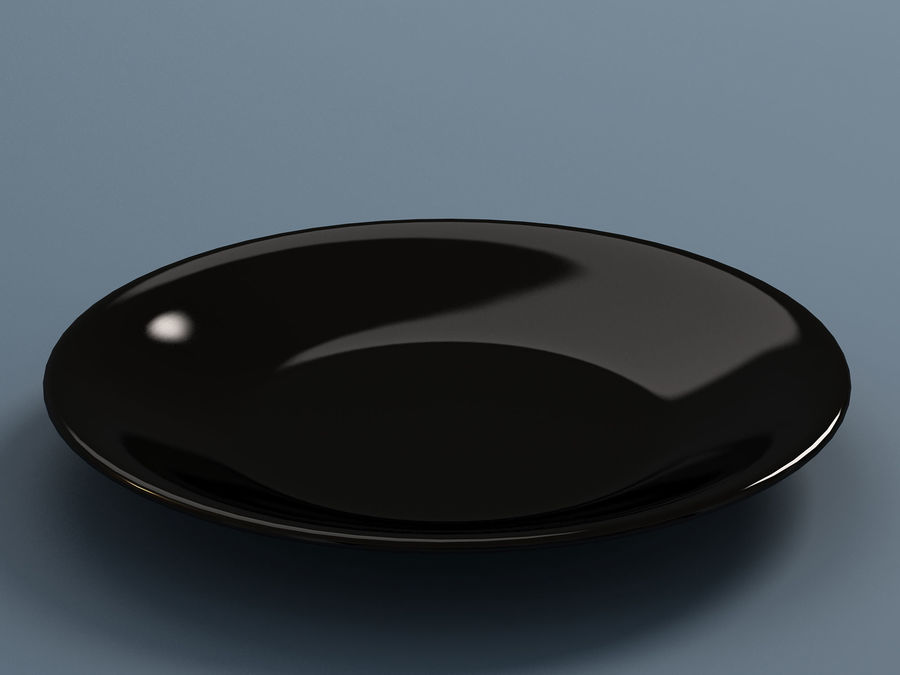 Plate B royalty-free 3d model - Preview no. 3