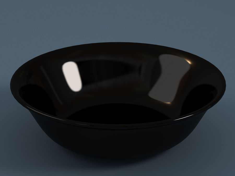 Plate A royalty-free 3d model - Preview no. 3