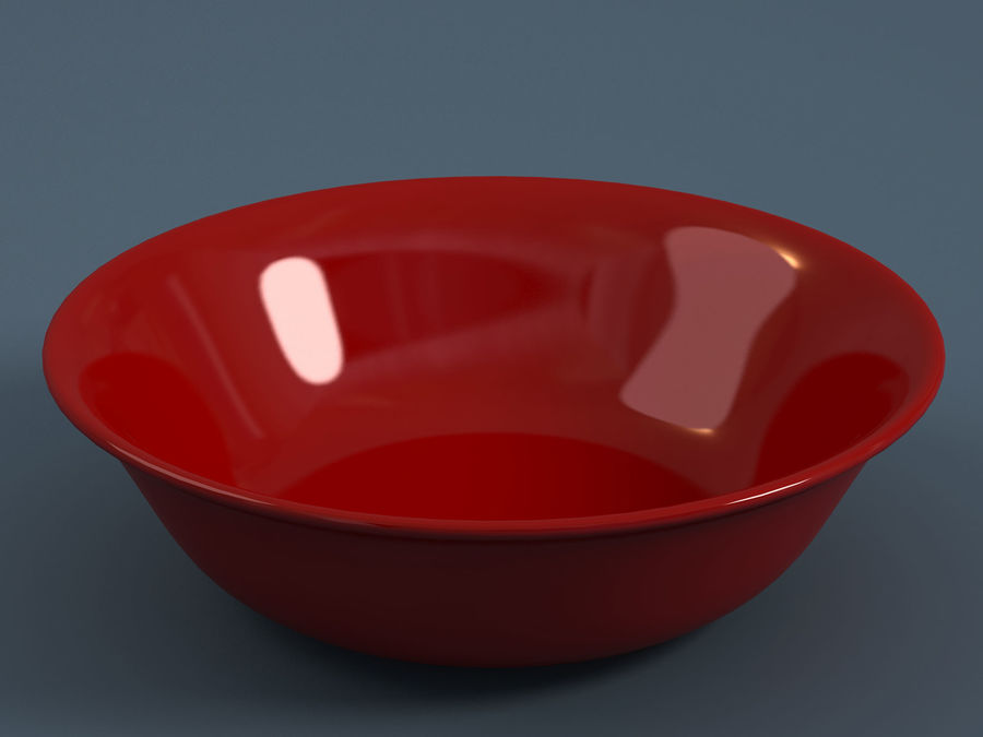 Plate A royalty-free 3d model - Preview no. 5