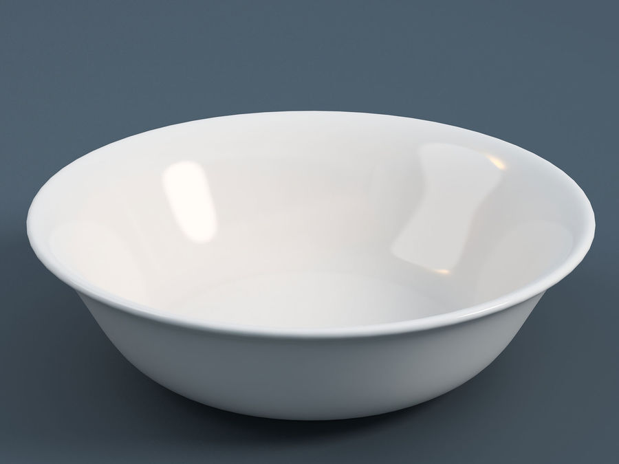 Plate A royalty-free 3d model - Preview no. 1