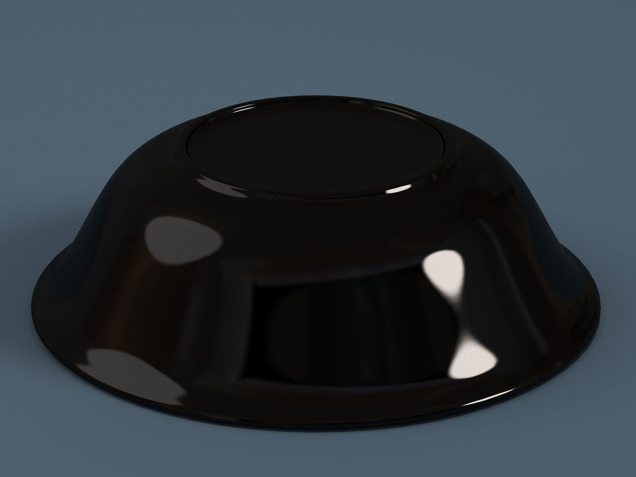 Plate A royalty-free 3d model - Preview no. 4
