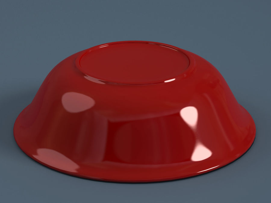 Plate A royalty-free 3d model - Preview no. 6