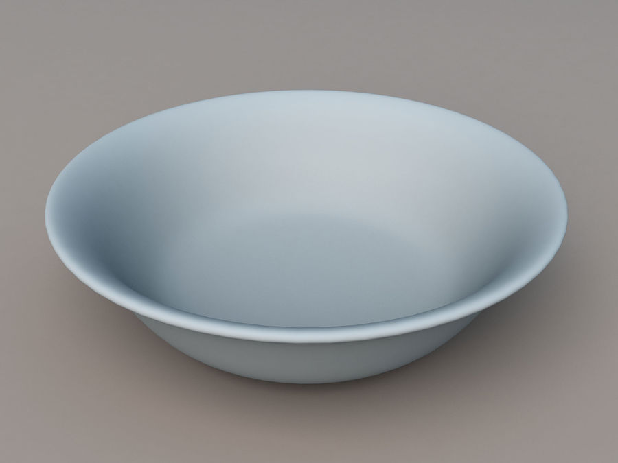 Plate A royalty-free 3d model - Preview no. 7
