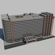 병원 사업 도시 건축 AA2 3d model