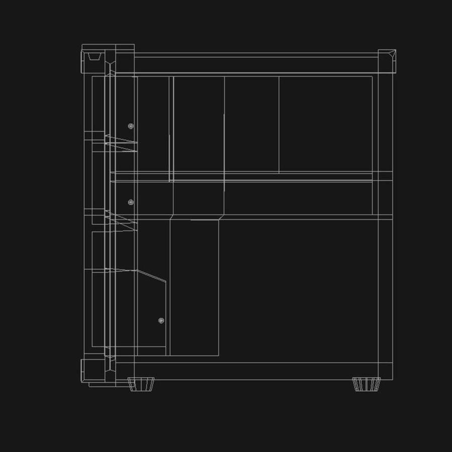 Mini Fridge royalty-free 3d model - Preview no. 12