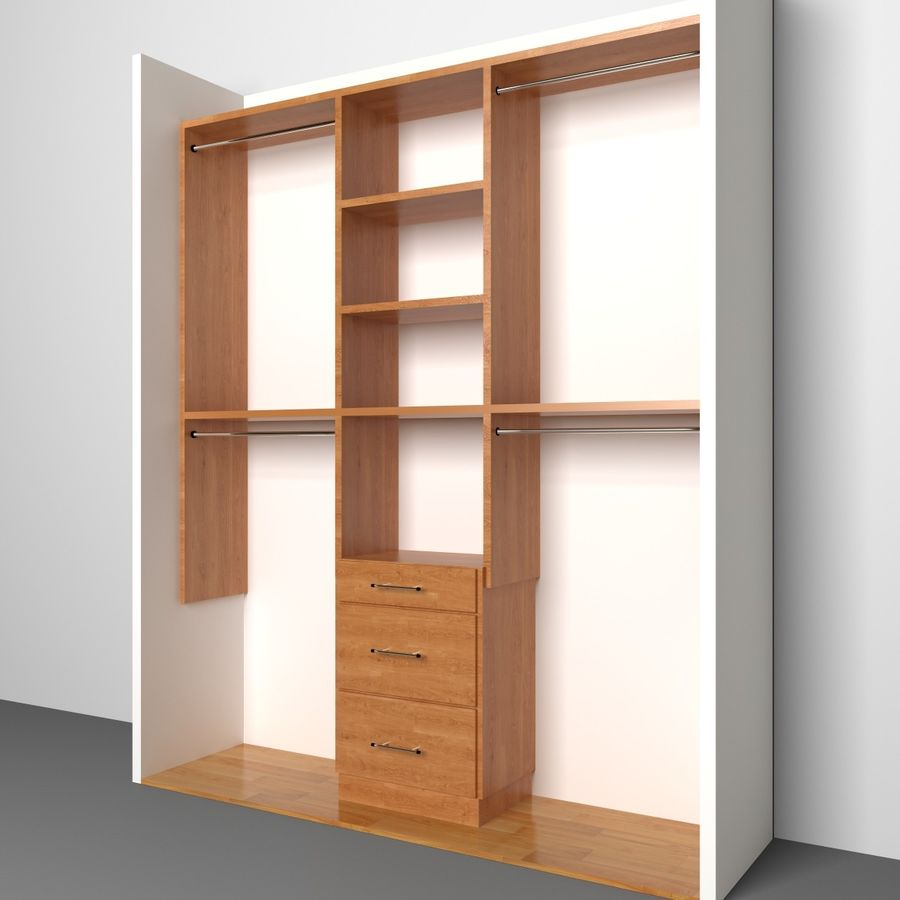 Closet Royalty Free 3d Model   Preview No. 1