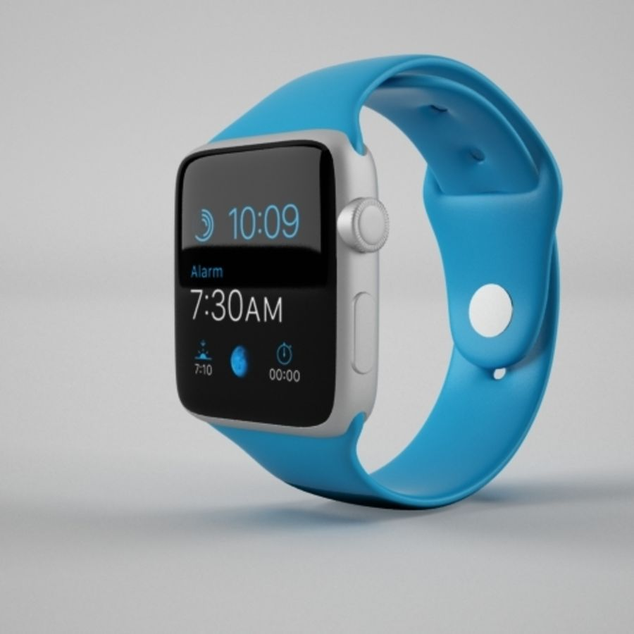 Apple Watch 스포츠 royalty-free 3d model - Preview no. 1