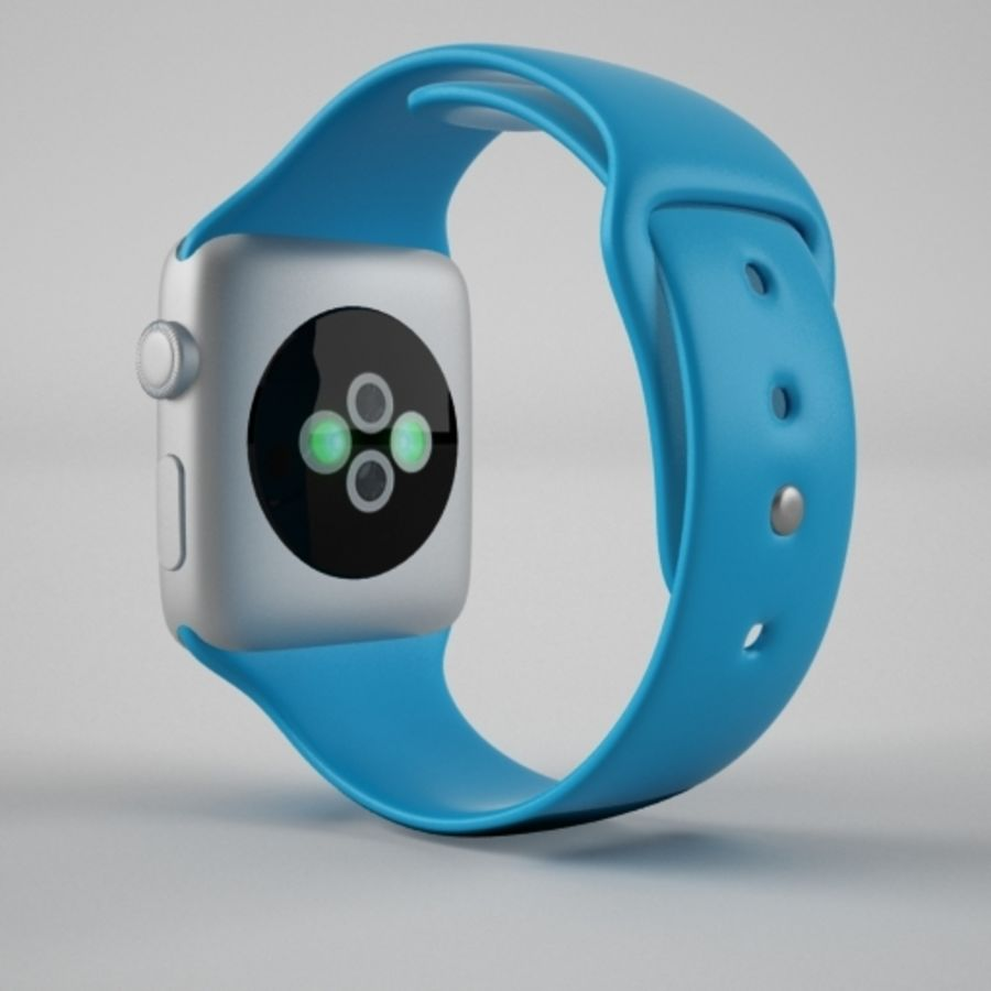 Apple Watch 스포츠 royalty-free 3d model - Preview no. 4
