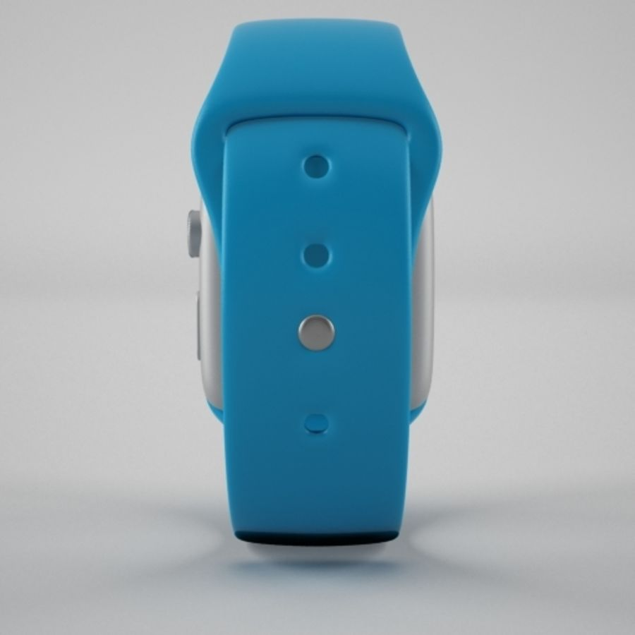Apple Watch 스포츠 royalty-free 3d model - Preview no. 3