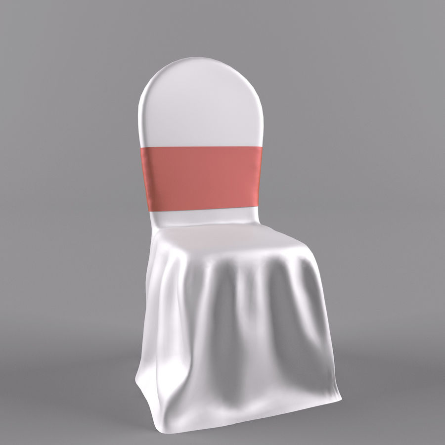 wedding chair royalty-free 3d model - Preview no. 1