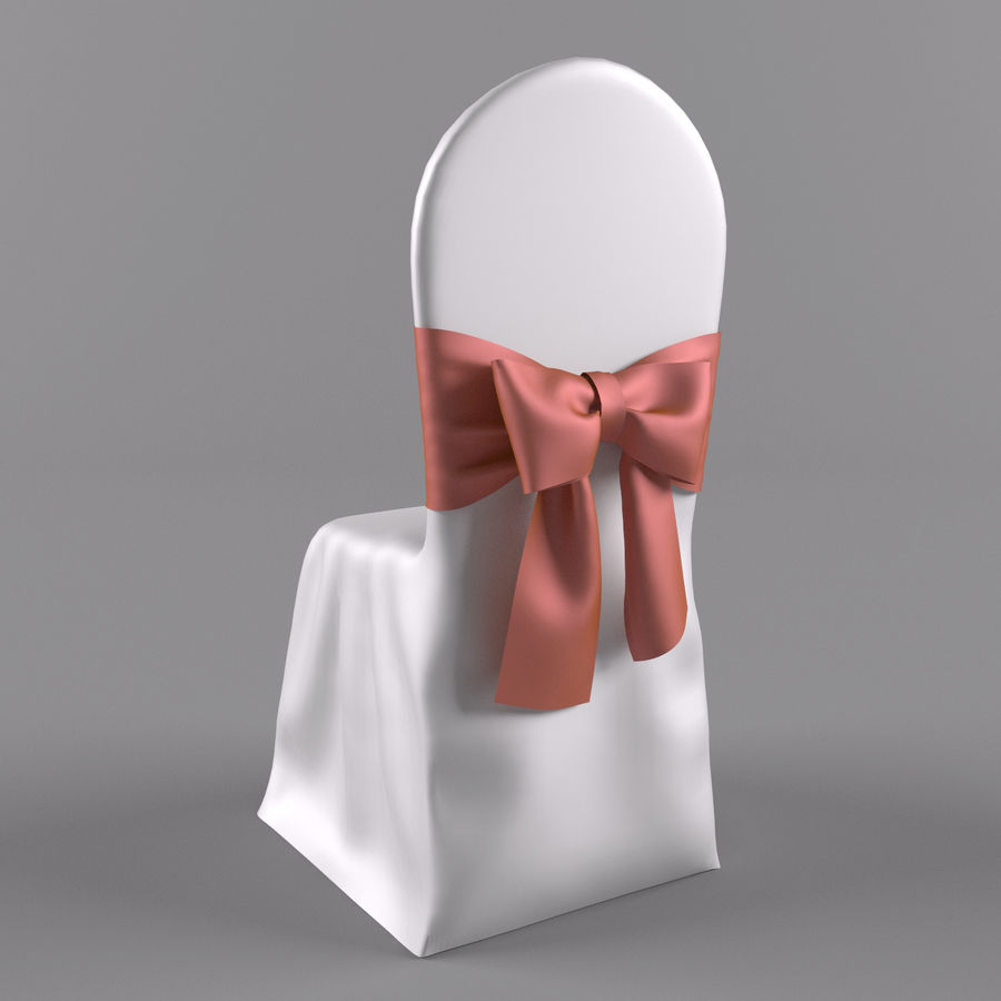 wedding chair royalty-free 3d model - Preview no. 2