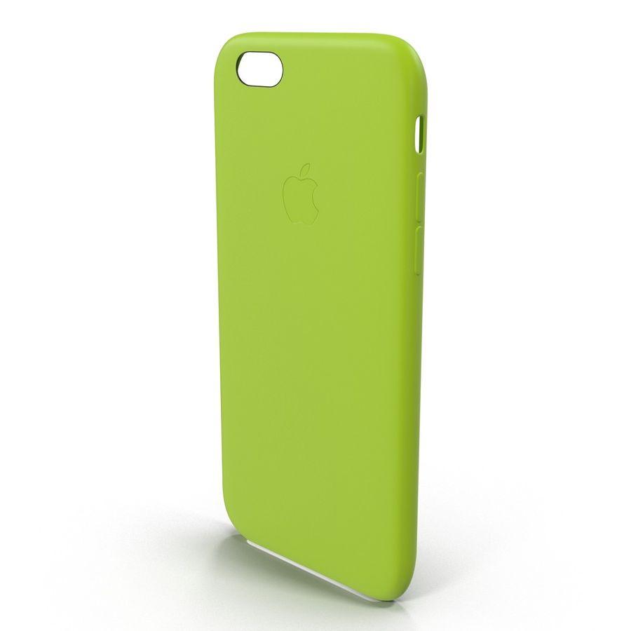 Capa de silicone para iPhone 6 Plus royalty-free 3d model - Preview no. 8
