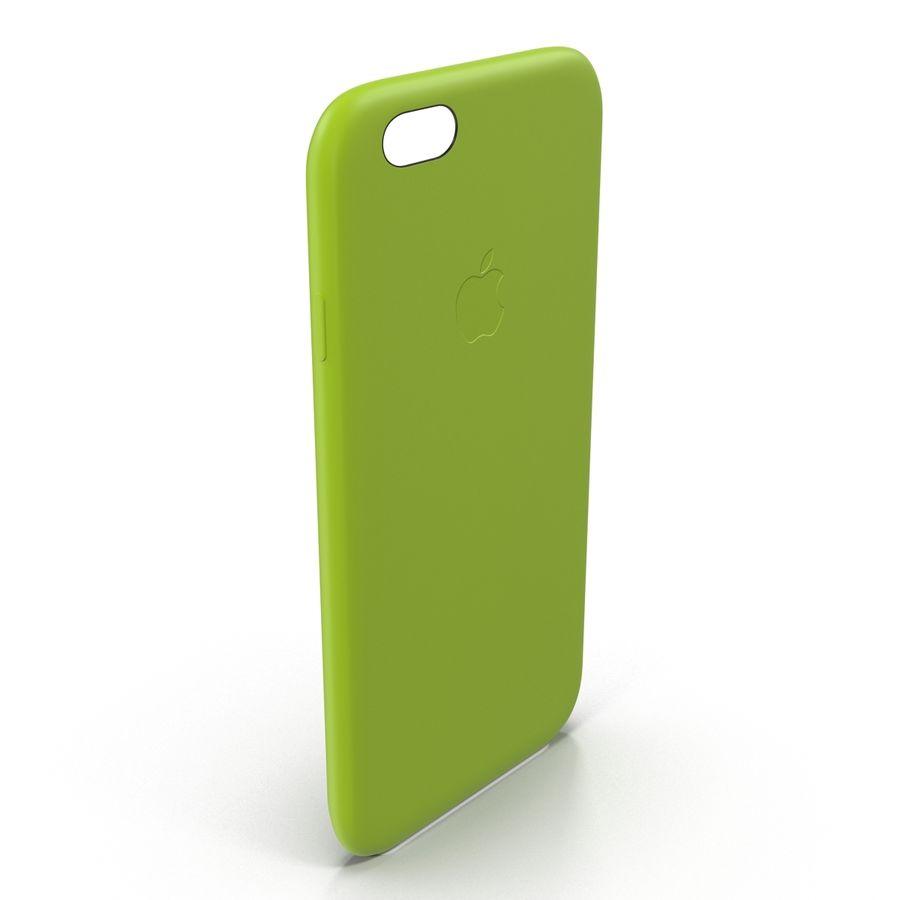 Capa de silicone para iPhone 6 Plus royalty-free 3d model - Preview no. 4
