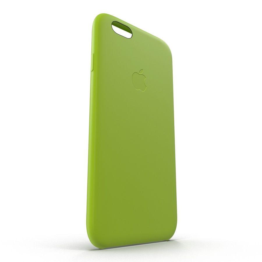 Capa de silicone para iPhone 6 Plus royalty-free 3d model - Preview no. 9