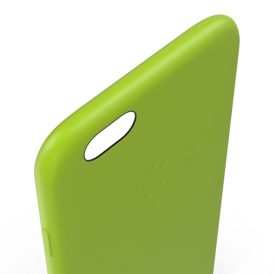 Capa de silicone para iPhone 6 Plus royalty-free 3d model - Preview no. 22