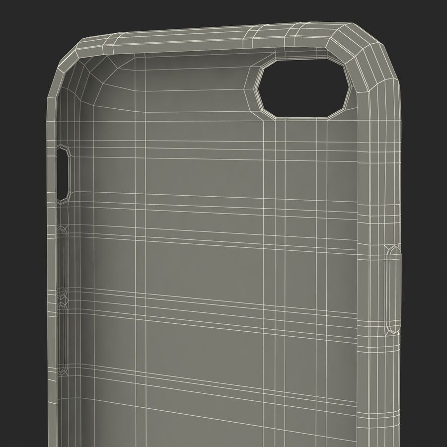 Capa de silicone para iPhone 6 Plus royalty-free 3d model - Preview no. 39
