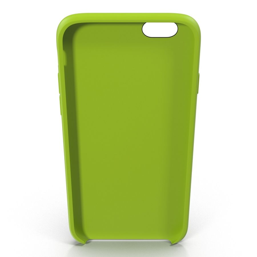 Capa de silicone para iPhone 6 Plus royalty-free 3d model - Preview no. 6