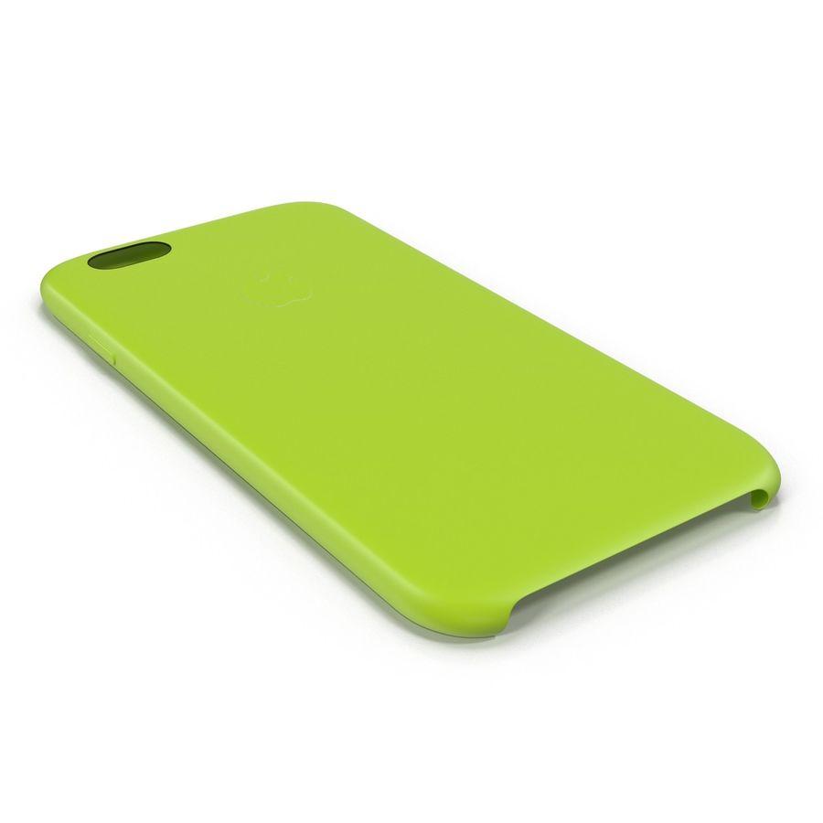Capa de silicone para iPhone 6 Plus royalty-free 3d model - Preview no. 13