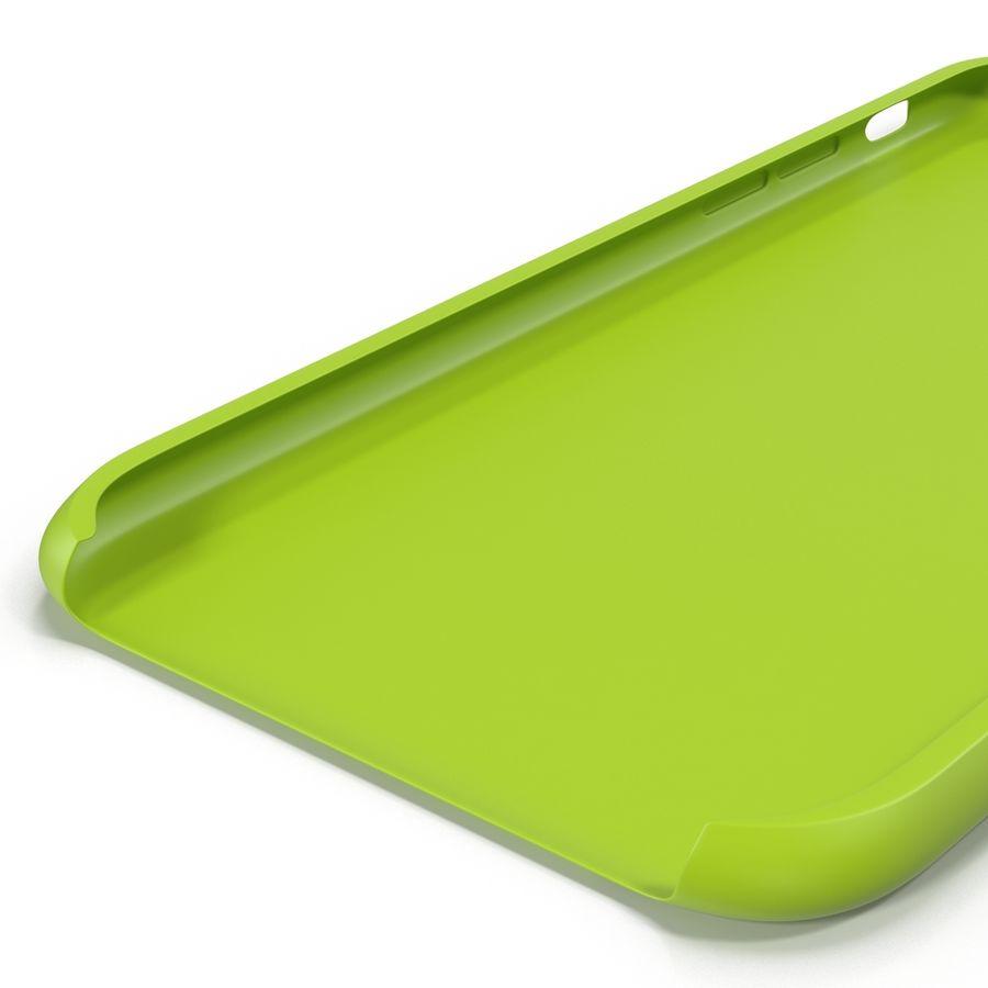 Capa de silicone para iPhone 6 Plus royalty-free 3d model - Preview no. 25