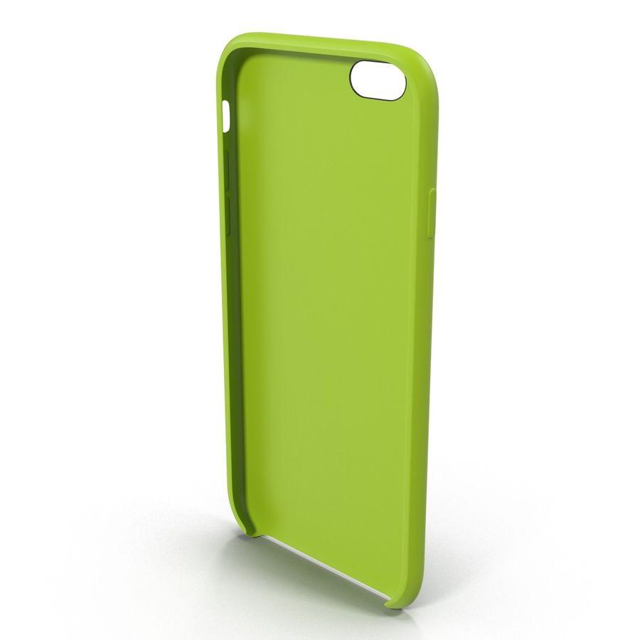 Capa de silicone para iPhone 6 Plus royalty-free 3d model - Preview no. 5