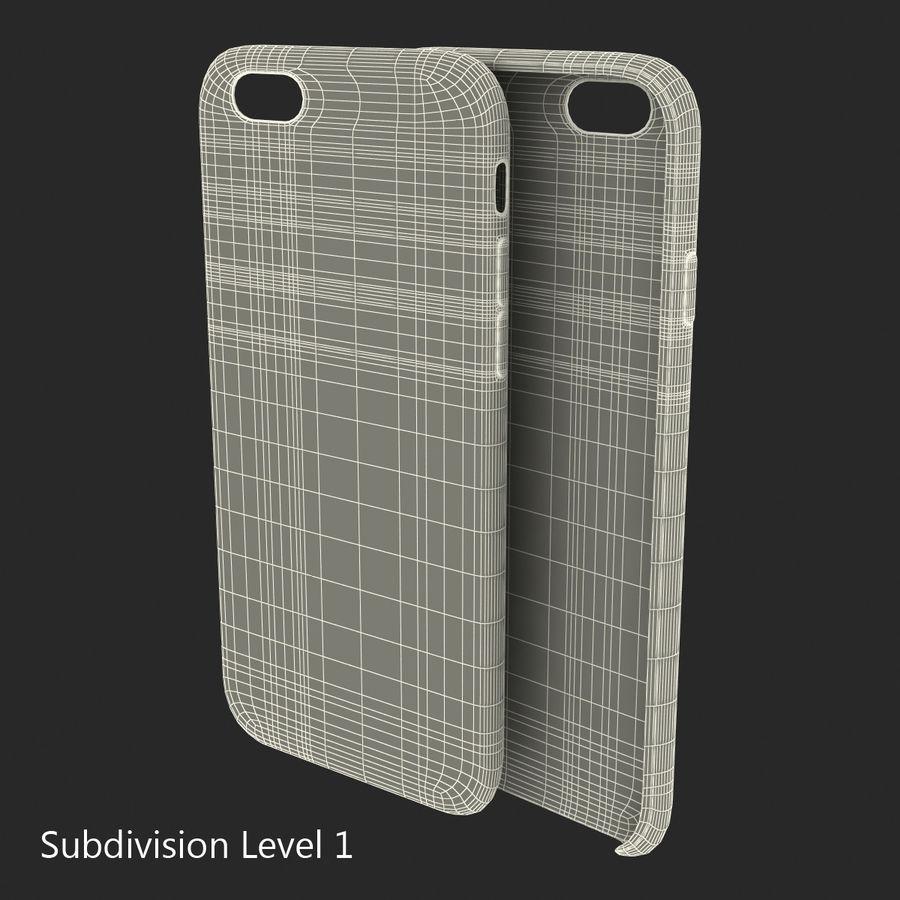 Capa de silicone para iPhone 6 Plus royalty-free 3d model - Preview no. 27