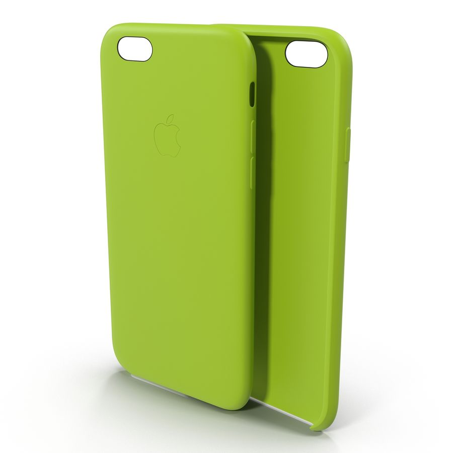 Capa de silicone para iPhone 6 Plus royalty-free 3d model - Preview no. 2