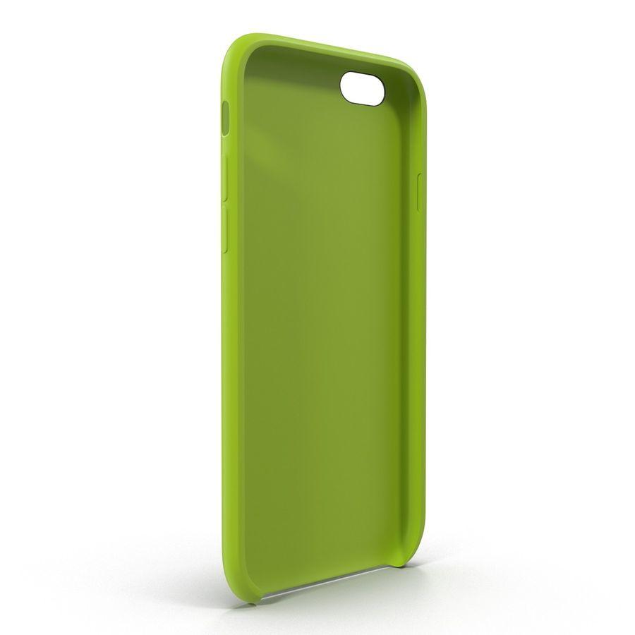 Capa de silicone para iPhone 6 Plus royalty-free 3d model - Preview no. 7