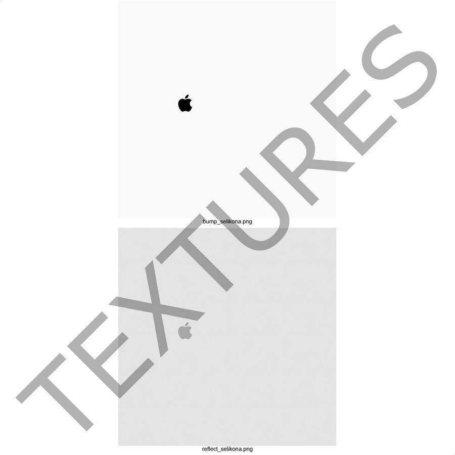 Capa de silicone para iPhone 6 Plus royalty-free 3d model - Preview no. 29