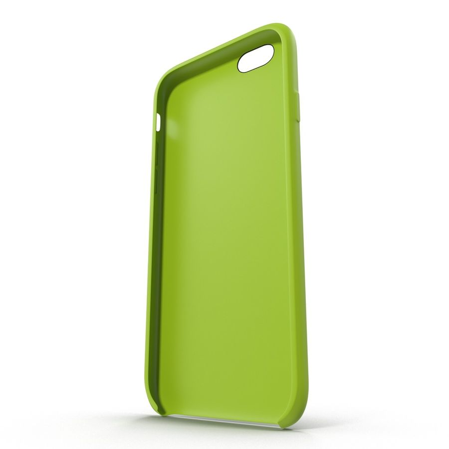 Capa de silicone para iPhone 6 Plus royalty-free 3d model - Preview no. 10