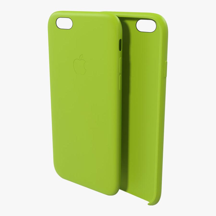 Capa de silicone para iPhone 6 Plus royalty-free 3d model - Preview no. 1