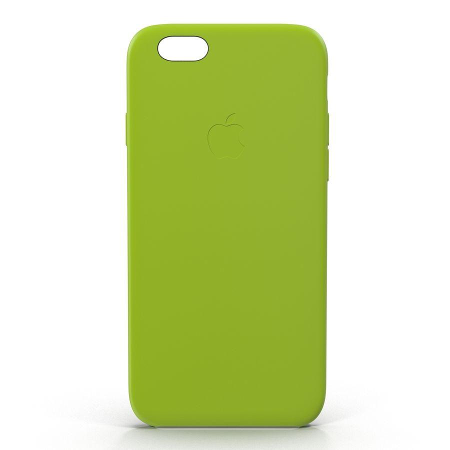 Capa de silicone para iPhone 6 Plus royalty-free 3d model - Preview no. 3