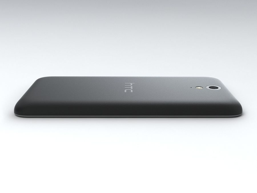 HTC Desire 620 royalty-free 3d model - Preview no. 8