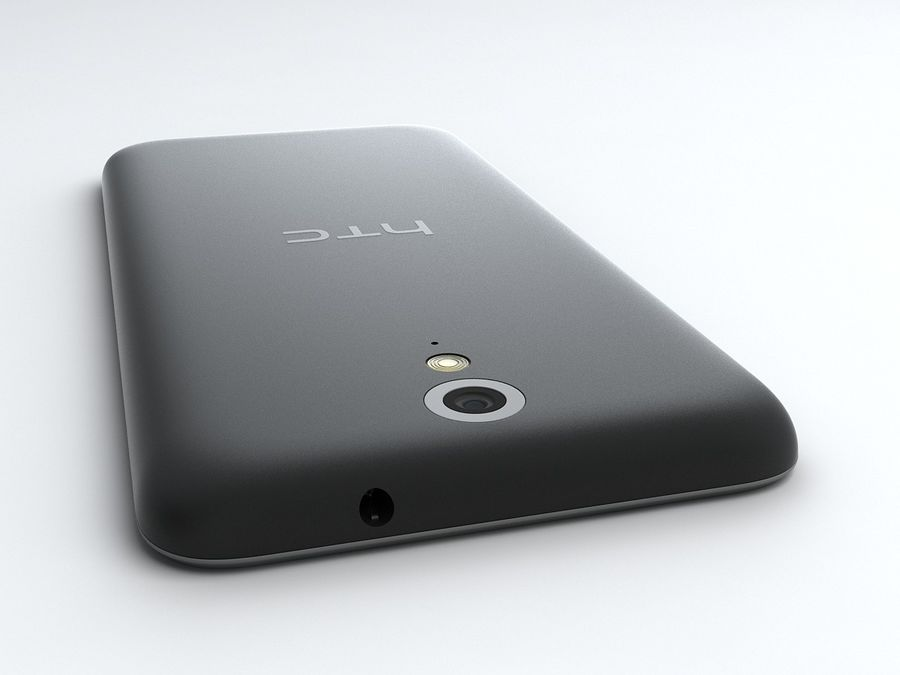 HTC Desire 620 royalty-free 3d model - Preview no. 6