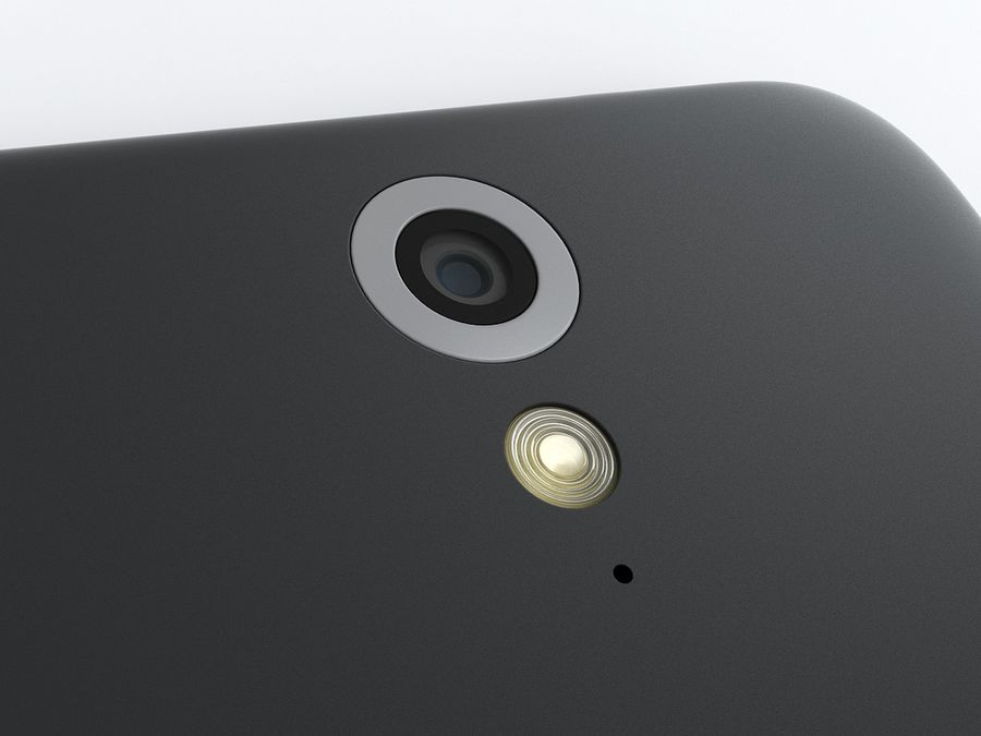 HTC Desire 620 royalty-free 3d model - Preview no. 13