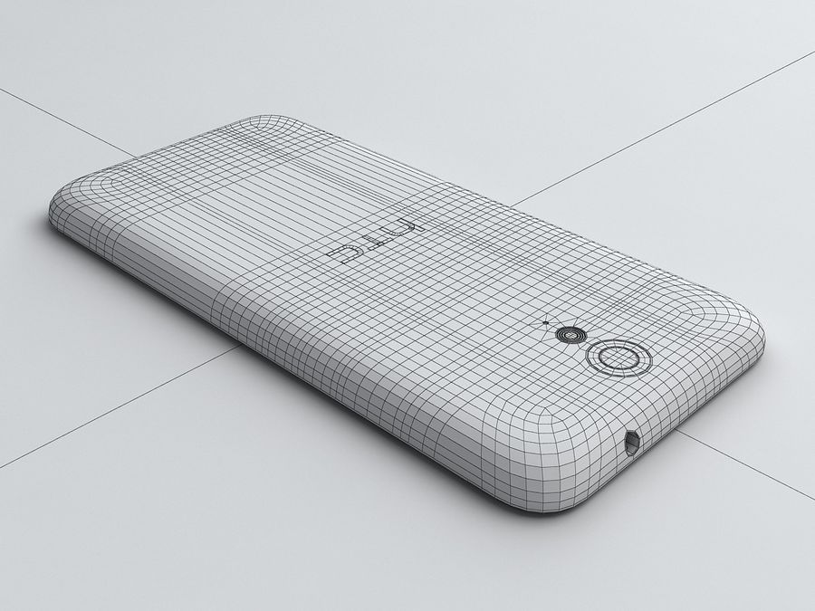 HTC Desire 620 royalty-free 3d model - Preview no. 17