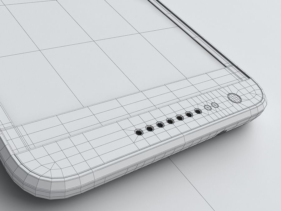 HTC Desire 620 royalty-free 3d model - Preview no. 20