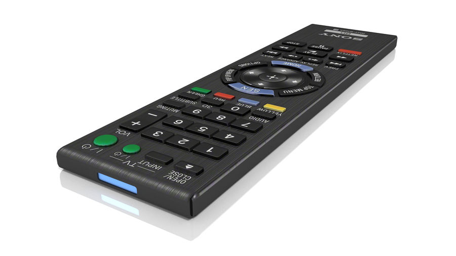 Remote Controller royalty-free 3d model - Preview no. 1