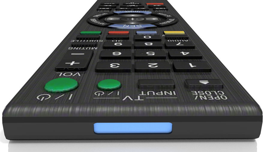 Remote Controller royalty-free 3d model - Preview no. 5