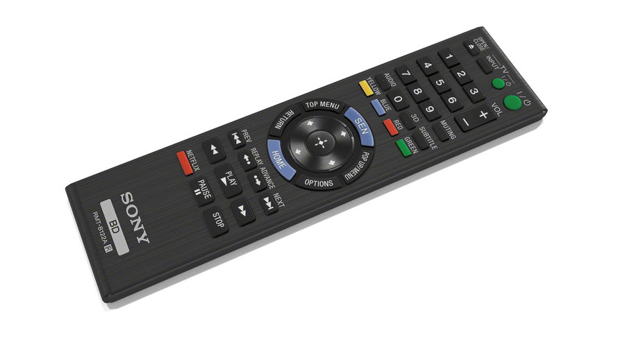 Remote Controller royalty-free 3d model - Preview no. 2