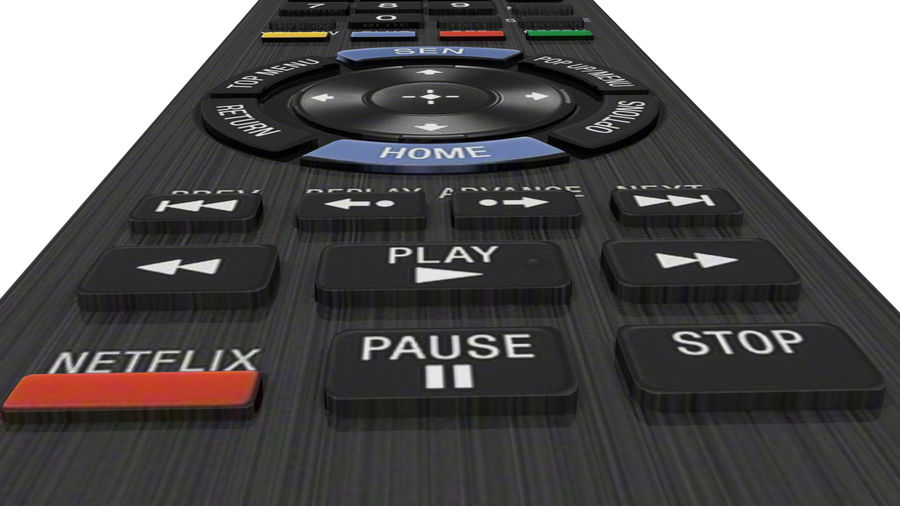 Remote Controller royalty-free 3d model - Preview no. 4