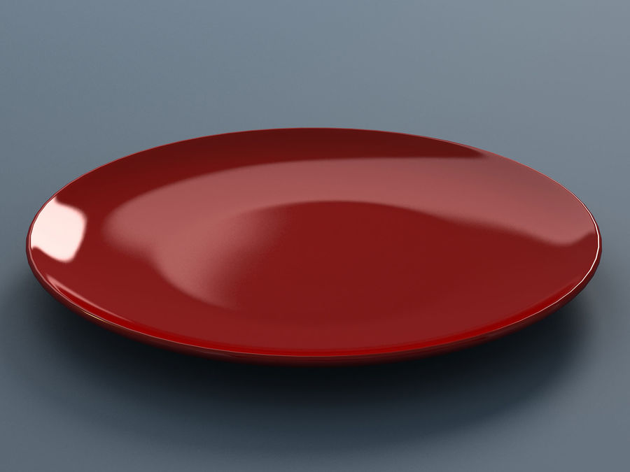 Plate C royalty-free 3d model - Preview no. 5