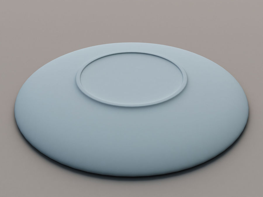 Plate C royalty-free 3d model - Preview no. 8