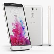 LG G3スタイラスD690ホワイト 3d model