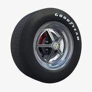 Wheel Shelby 01 3d model