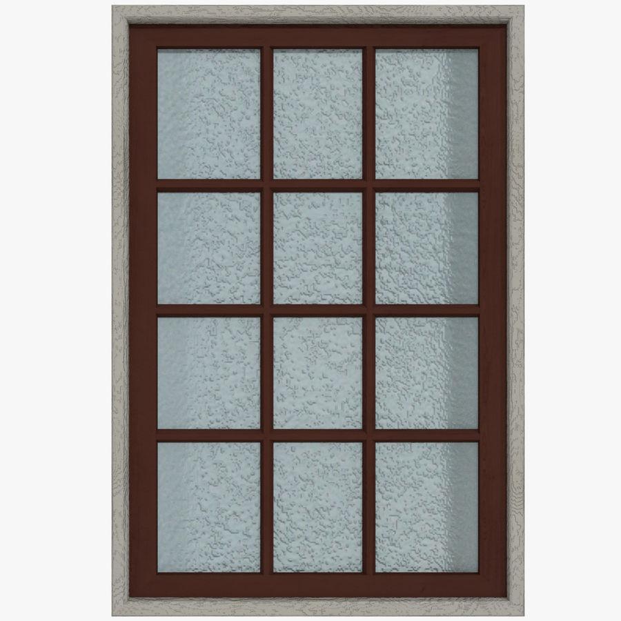 Windows Doors Type 1 Low Poly 3d Model 12 Obj Fbx