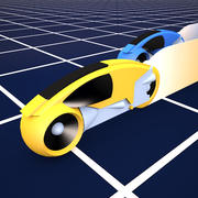 Tron light cycles (1982) 3d model