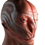 Obca głowa 3d model