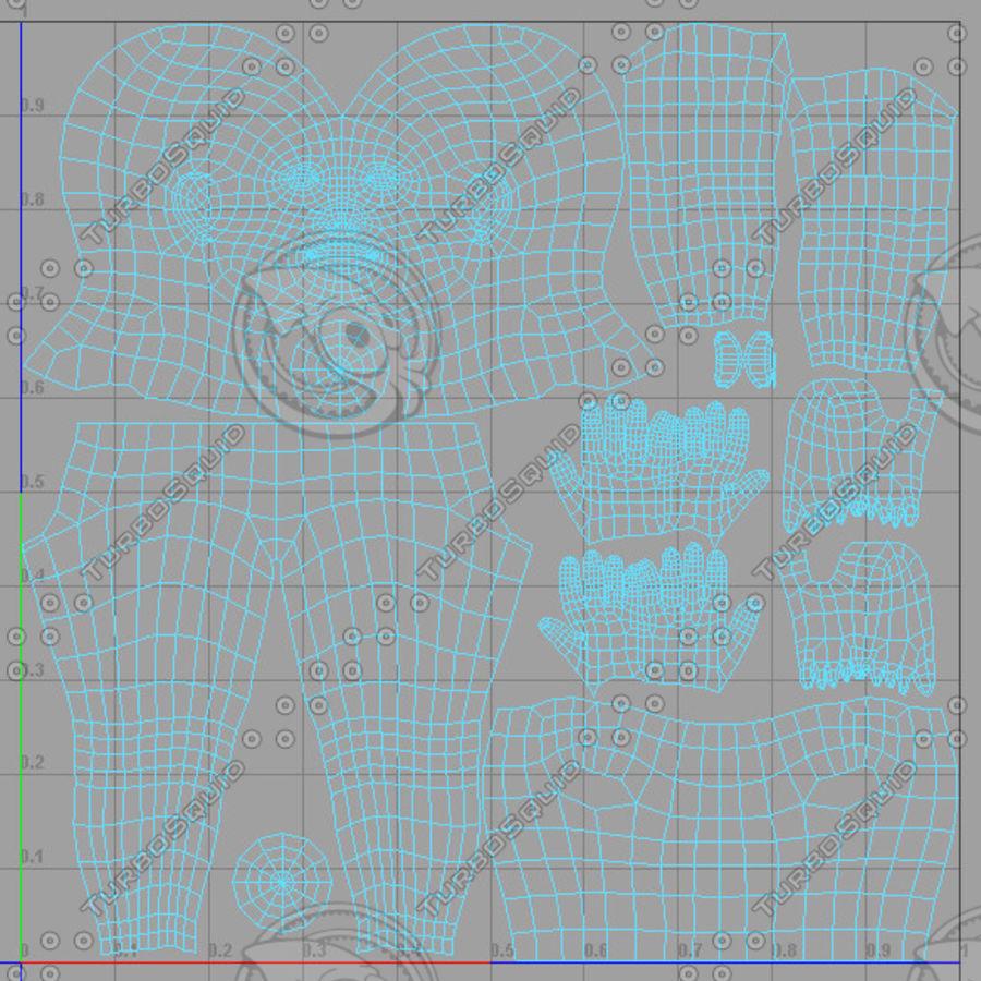Hombre personaje royalty-free modelo 3d - Preview no. 5