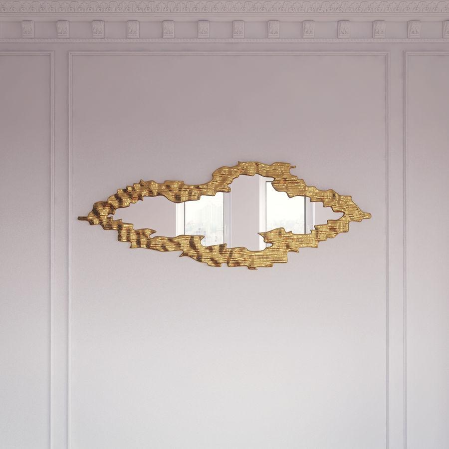 Cloud gold frame mirror 3D Model $11 - .max .obj .fbx .3ds ...