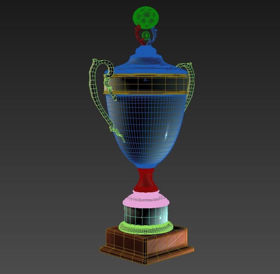Belarussian Champion Cup royalty-free 3d model - Preview no. 5